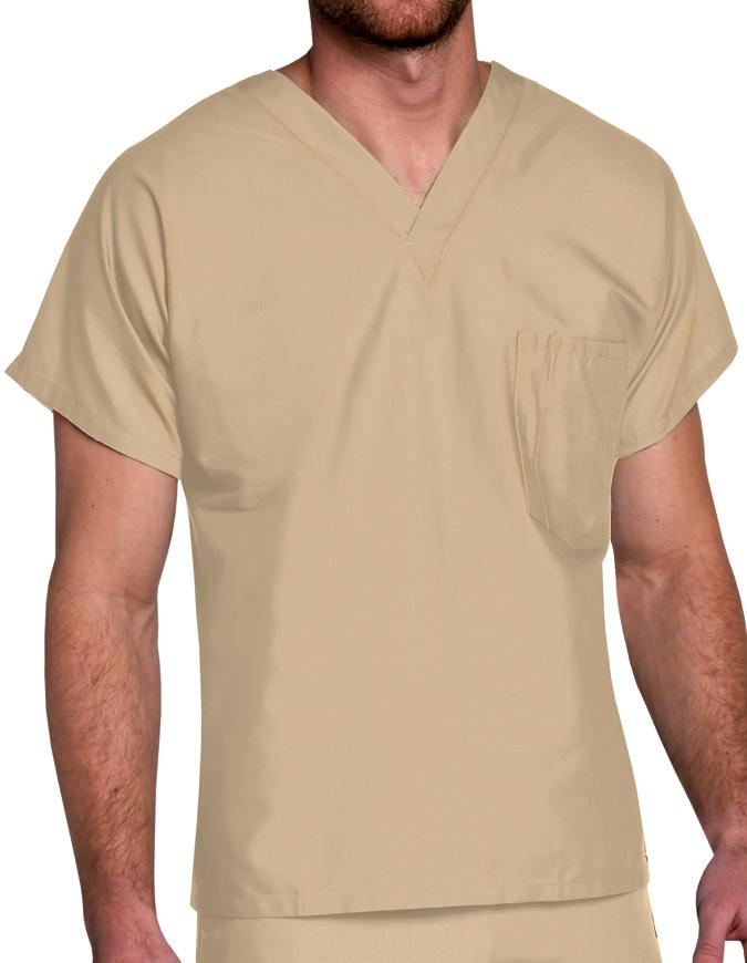 Landau ScrubZone Unisex V-Neck Nurse Scrub Top