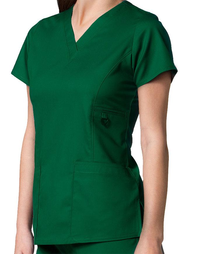 Maevn Eon Women's V-Neck Pocket Top