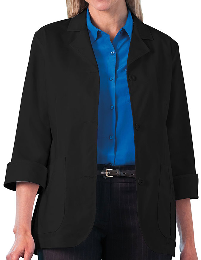 Meta 29 Inches Ladies 3/4 Sleeve Stretch Labcoat