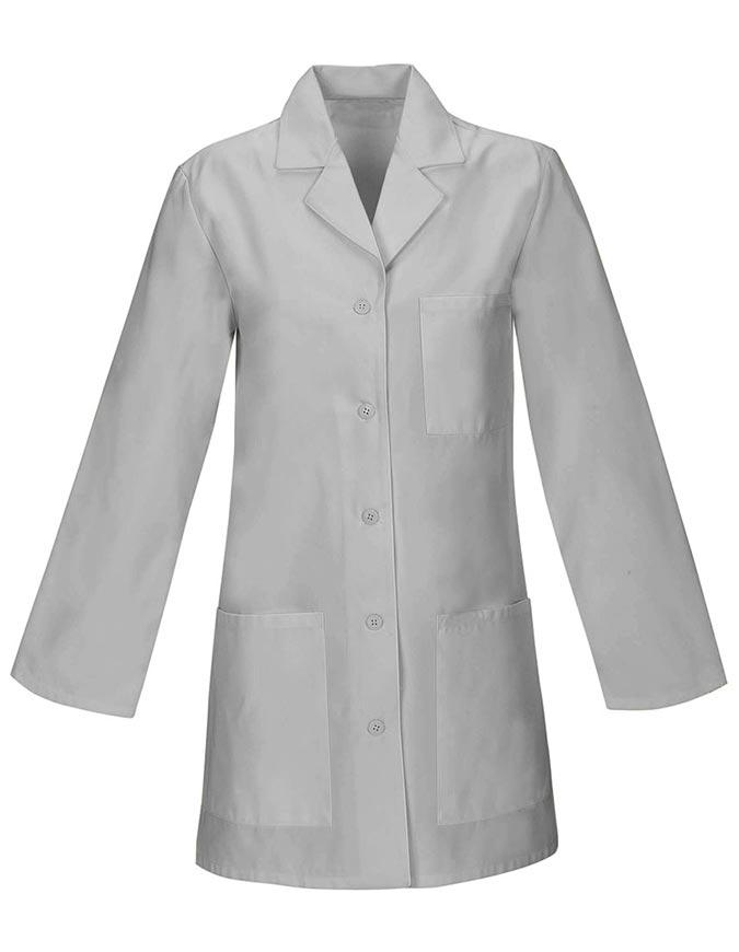 Women 32 inches Three Pocket Multiple Colors Short Lab Coat
