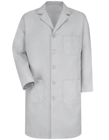 Red Kap Men's Three Pocket 41.5 Inches Long Lab Coat