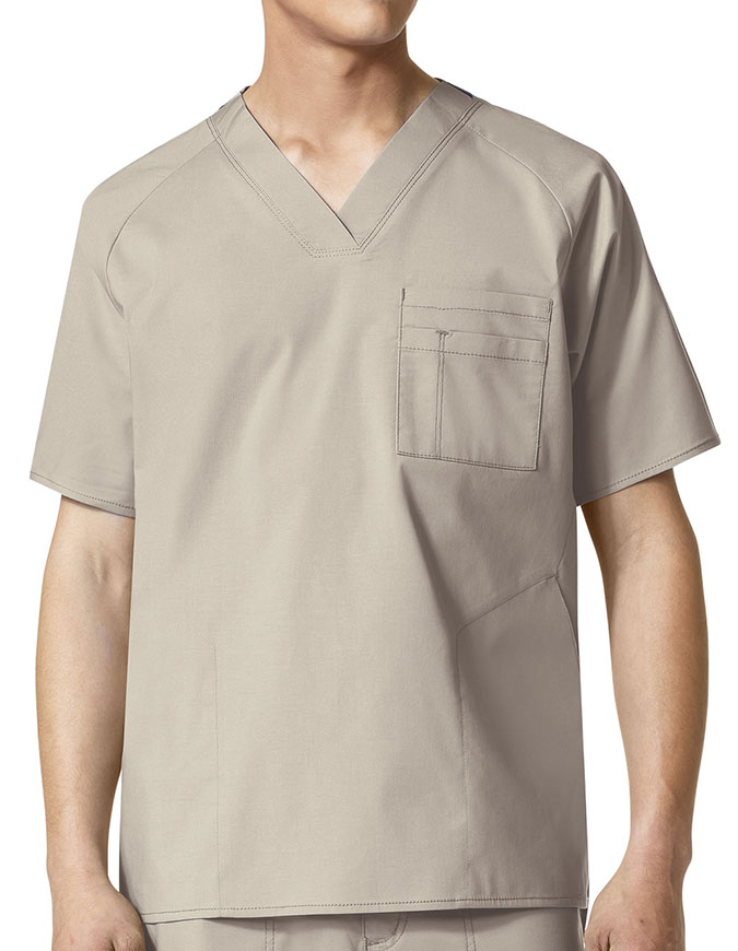 Wonderwink Wonderflex Men's Anchor Basic Scrub Top