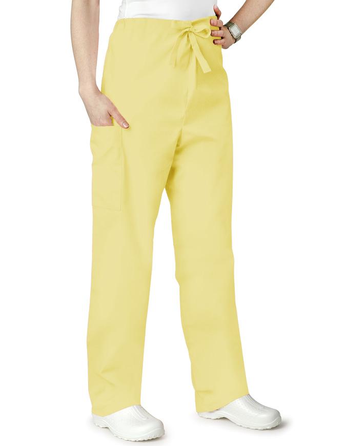 Adar Unisex Two Pockets Drawstring Scrub Pants
