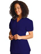 AD-616 : Adar Women Two Pockets Mock Wrap Scrub Uniforms