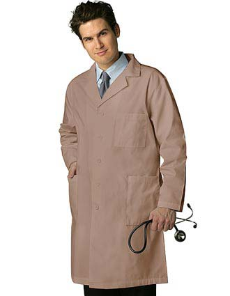 Adar 39 inch Multiple Pocket Unisex Medical Lab Coat