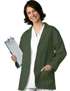 AD-805 : Adar Uniform 30 inch Classic Three Pocket Unisex Consultation Coat