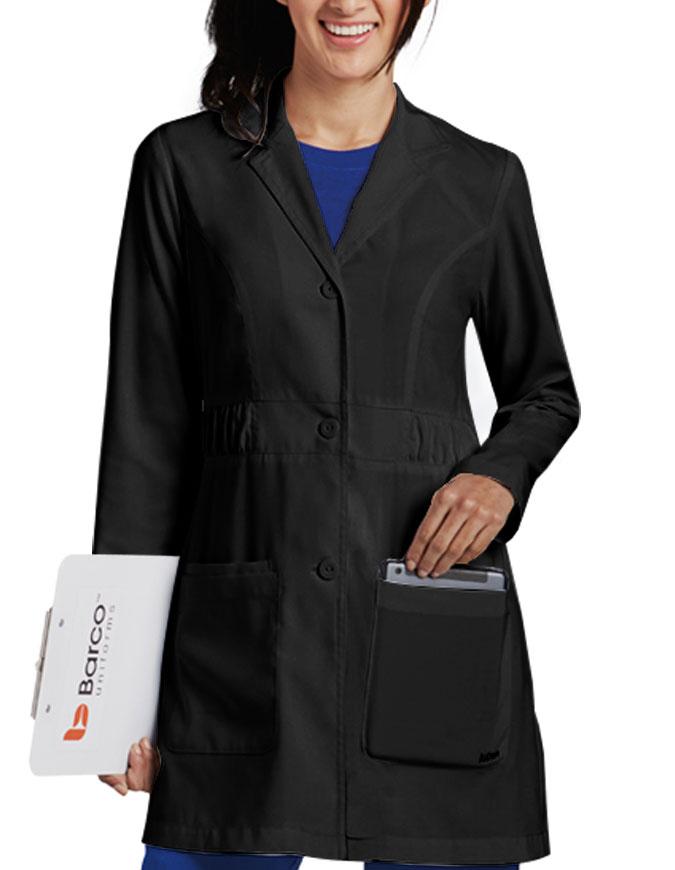 Barco KD110 Women's Kenzie Shirred Waist Fashion Labcoat