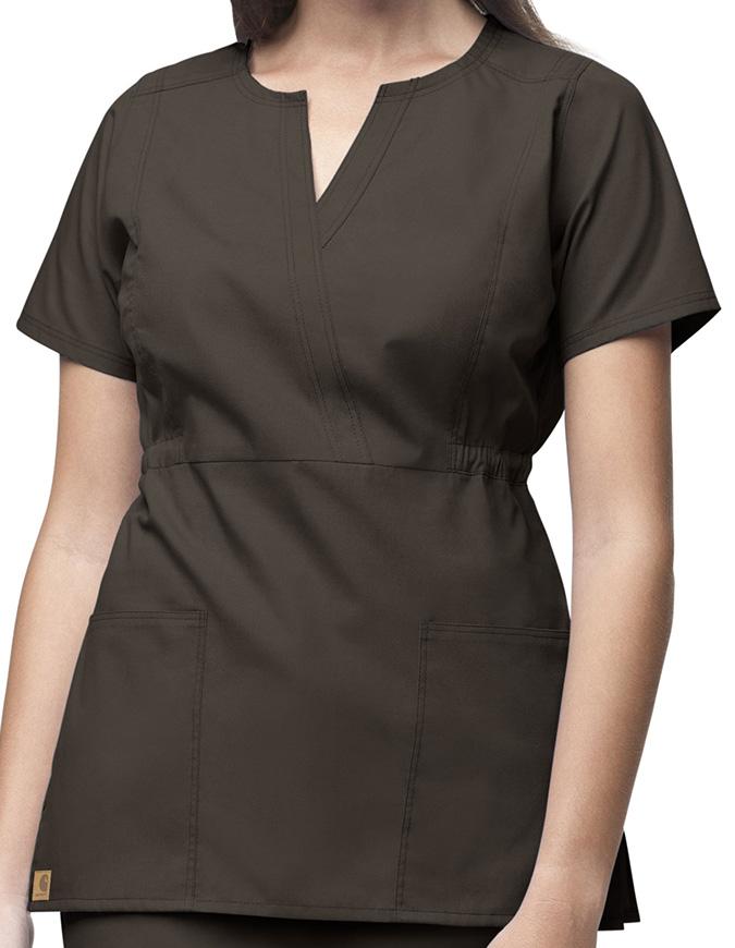 Carhartt Women Fashion Waist Fashion Scrub Top