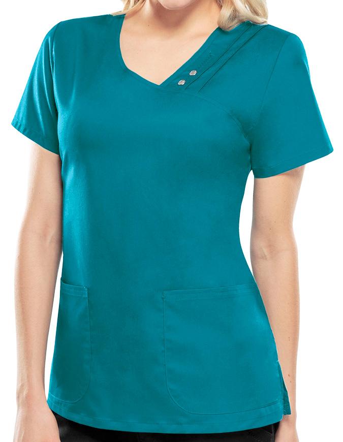 Cherokee Luxe Women's V-Neck Nursing Scrub Top