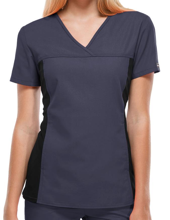 Cherokee Flexibles Women's Two Pocket V-Neck Nurses Scrub Top