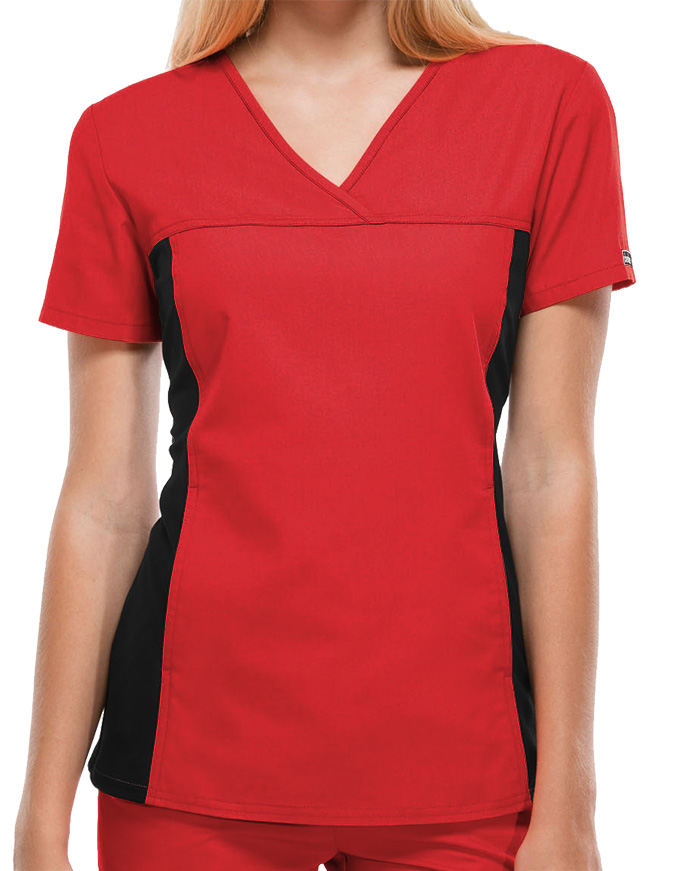 Cherokee Flexibles Women's Two Pocket V-Neck Nurses Scrub Top