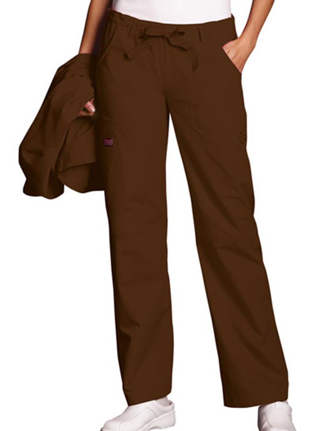 Cherokee Workwear Women Petite Drawstring Scrub Pants