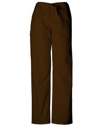 Cherokee Workwear Unisex Petite Drawstring Scrub Pants