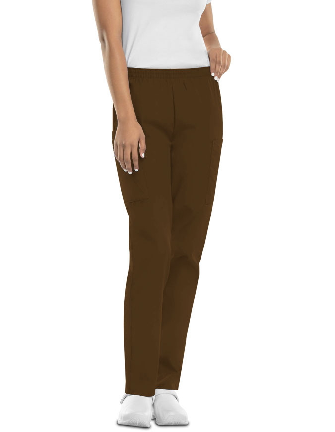 Cherokee Workwear Women Four Pocket Petite Pants