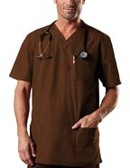 CH-4701 : Cherokee Workwear Four Pocket Tall Unisex V-Neck Nursing Top