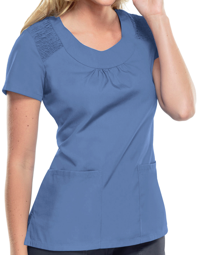 Ceil Blue Scrubs Finest Quality Amp Style Pulse Uniform