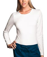 CH-4818 : Cherokee Workwear Womens Round Neck Long Sleeve Nurse T-Shirt