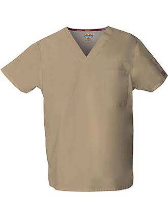 Dickies Unisex EDS Signature V-Neck Nursing Scrub Top