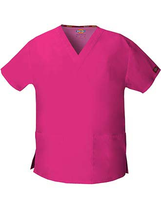 Dickies EDS Women's V-Neck Nursing Scrub Top