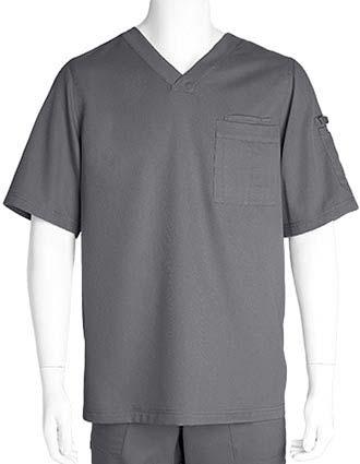 Grey's Anatomy Mens Three Pocket V-neck Scrub Top