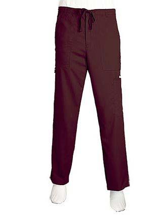 Grey's Anatomy Men Multiple Pockets Zip Fly Medical Scrub Pants