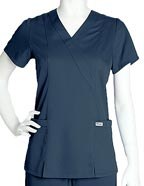 GR-41101 : Grey's Anatomy Junior Fit Two Pocket Scrub Top