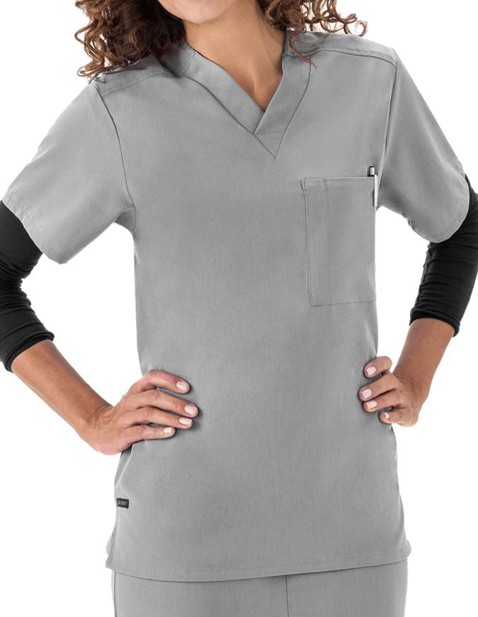 Jockey Scrubs Unisex Single Pocket V-Neck Nurses Top
