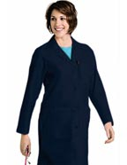LA-3155 : Landau Womens Three Pocket 39 inch Long Medical Lab Coat