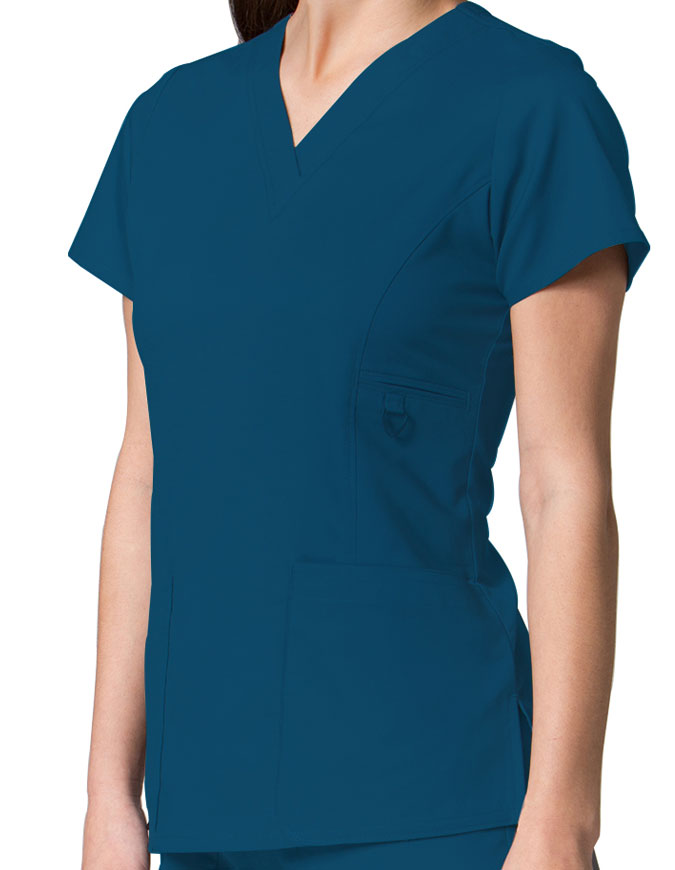 Maevn Eon Women's V-Neck Pocket Top