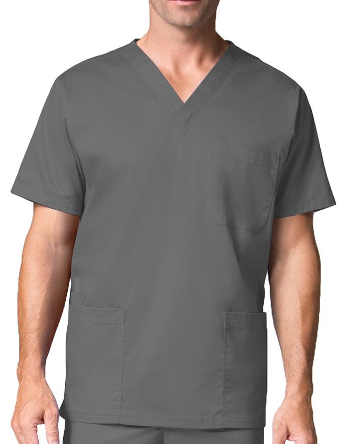 Maevn Men's Three Pocket V-neck Top