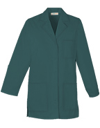 PU-1027 : Women 32 inch Three Pocket Multiple Colors Short Lab Coat