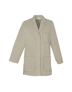 Women 32 inch Three Pocket Multiple Colors Short Lab Coat