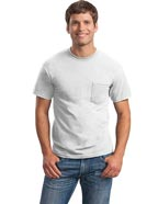 SA-2300 : Sanmar Gildan Unisex Single Pocket Ultra Cotton T-Shirt
