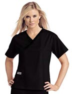 UR-9501 : Urbane Womens Classic Single Pocket Crossover Scrub Top