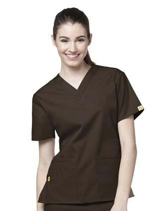 Wink Scrubs Women's The Bravo V-Neck Nursing Top