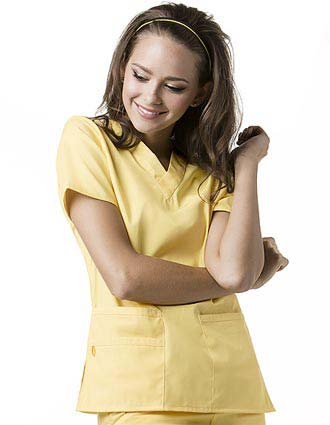 Wink Scrubs Women The Bravo V-Neck Nursing Top