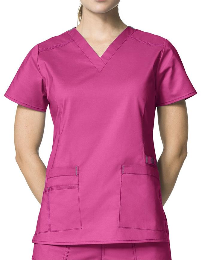 Wink Scrubs Lady Fit V-Neck Nursing Scrub Top