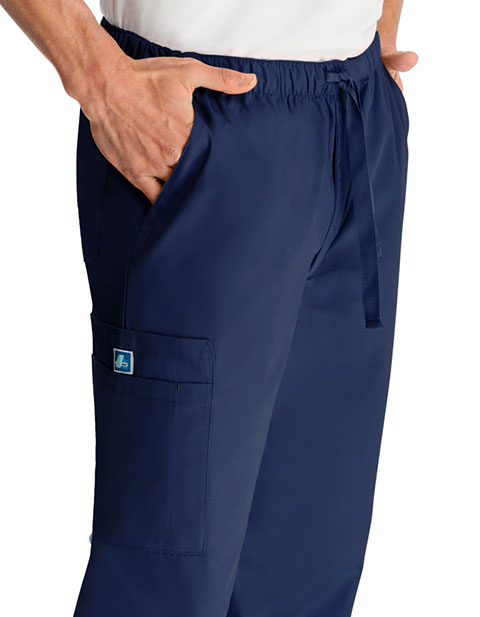 ADAR Universal Men's Six Pockets Comfort Tapered Leg Pants