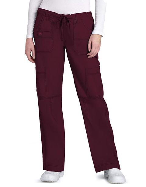Adar Pop-Stretch Multi Pocket Pants Petite