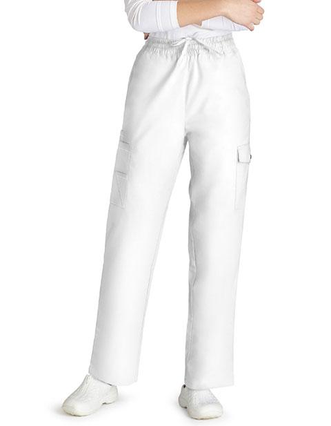 Adar Unisex Tall Multi-Pocket Cargo Medical Scrub Pants