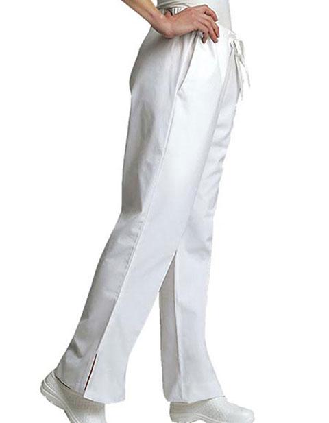 Adar Women's Flare Leg Natural-Rise Tall Medical Scrub Pants