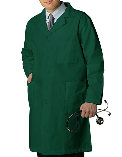 Adar 39 Inches Multiple Pocket Unisex Medical Lab Coat