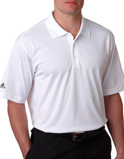 A130 Adidas Men's ClimaLite Basic Piqué Performance Polo