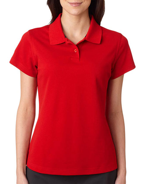 Adidas Ladies' ClimaLite Piqué Polo