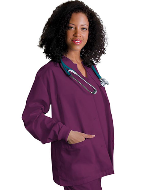 buy clearance sale women warmup nursing scrub jacket by