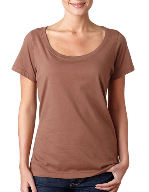 391 Anvil Ladies' Sheer Scoop-Neck Tee
