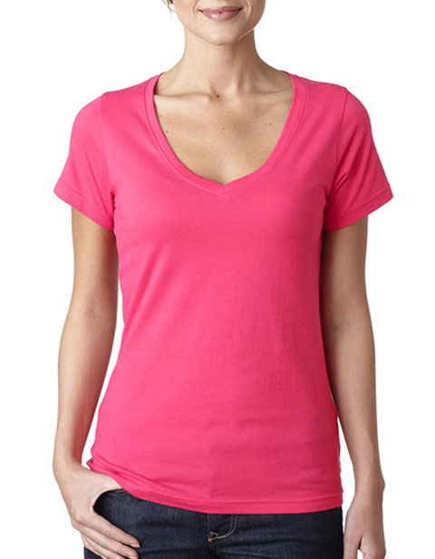 392 Anvil Ladies' Sheer V-Neck Tee