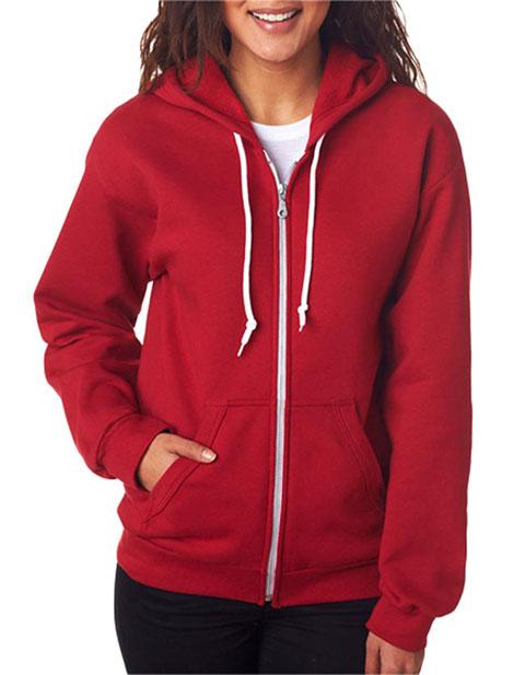 71600FL Anvil Ladies' Fashion Full-Zip Blended Hooded Sweatshirt