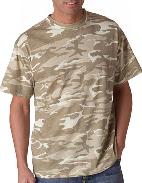939 Anvil Adult Camouflage Tee