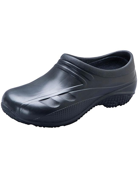 Anywear Slip Resistant Injected Closed Back Clog Shoes